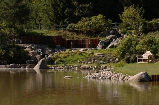 Japanske haver anlægges af super erfarent personale