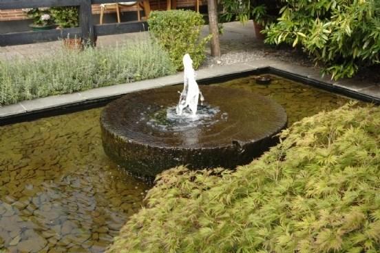 springvand i haven