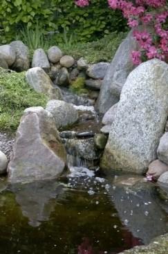 vandløb i haven